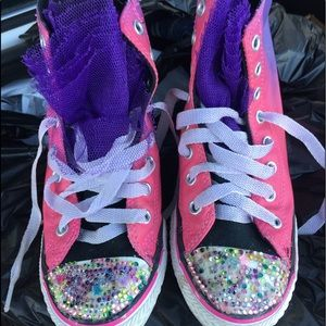 Bedazzled Converse All Stars